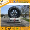 Custom 3.5m high inflatable tire balloon F1074