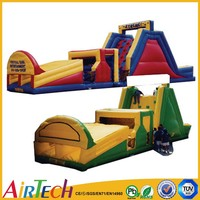manufacturer factory inflatable obstacle,kids obstacle course