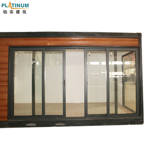 Deep impression residential automat sectional industry sliding door