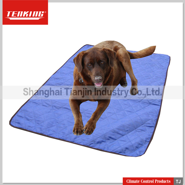 Collapsible Evaporative Cooling Dog Pad
