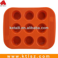 Customize wholesale different shape silicone baking molds, cheap 3d silicone rubber molds