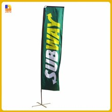 Hot selling sail boat flags sublimation printing teardrop beach flags