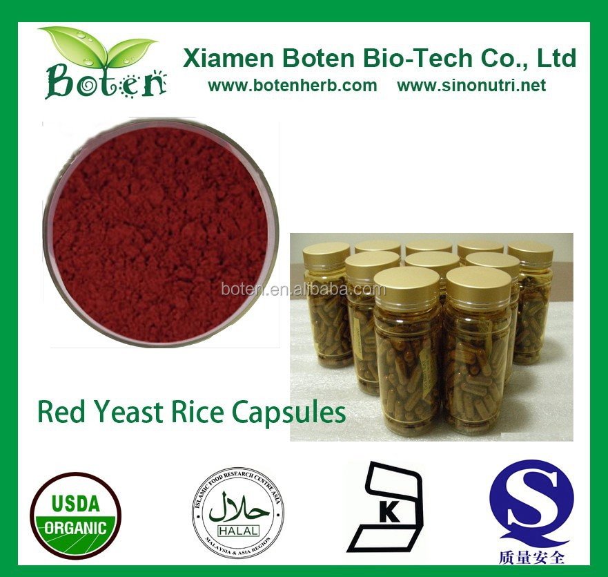 100% Cool Water Soluble Red Yeast Rice Extract