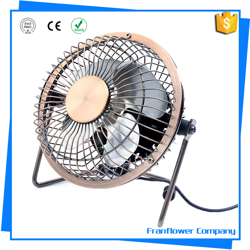 4inch / 6inch High performance types of mini metal fan air cooler blades