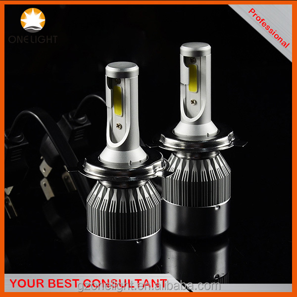 C6 LED headlight in taiwan for used cars IP67 IP68 H4 high low beam for toyota