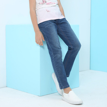 warm popular long jeans for girl with new style