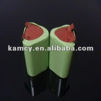 3.6v 1500mah nimh 4/5AA rechargeable battery packs for power tools