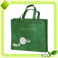 OEM promotional advertisement eco shopping tote beach cheap silk screan printing non woven promotion bag