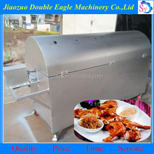 Charcoal roasted rabbit machine/ barbecue grill custom stainless maker price