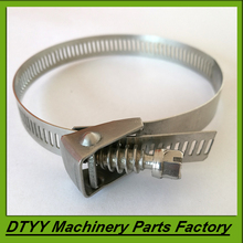Fast delivery worm gear quick release pipe clamps from China famous supplier