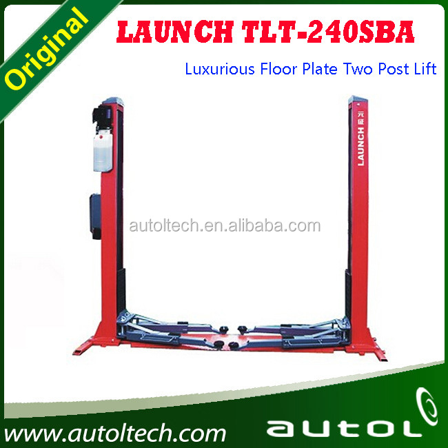 Good and wholesale price Launch TLT240SBA advanced 2 post car lift cheap ramps for sale