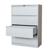 cheap Luoyang metal lateral filing 4 drawer cabinet