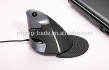 Hot computer accessories Delux M618LU M618 Ergonomic mouse wired vertical mouse 2.4G usb 6d gaming mouse