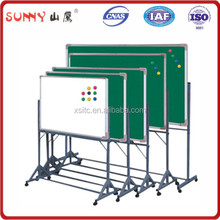 school folding magnetic white board with stand
