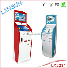 automatic cinema ticket vending machine touch screen