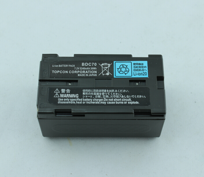 Competible BDC70 7.4v 5200Mah battery for Sokkia CX/RX-350