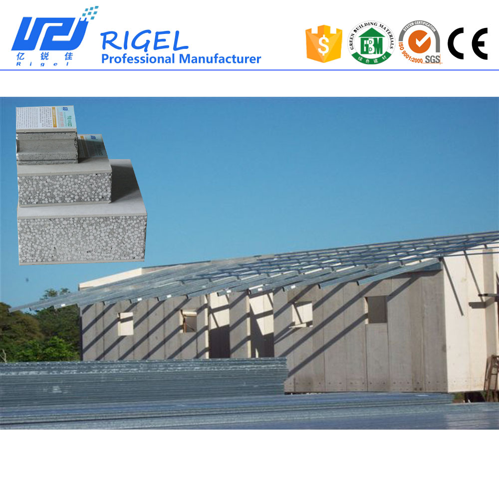 2018 Hot sales eps cement sandwich wall panel