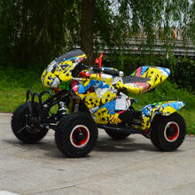 2018 new 49CC 4 wheels kids quad bike cute sport small pull start pocket bike ATV