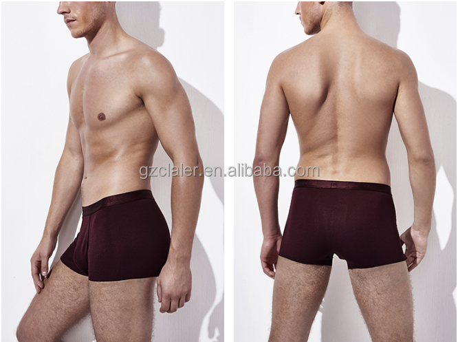 Men's Cotton Knitted Underwear Men Boxers Shorts Loose Underpants