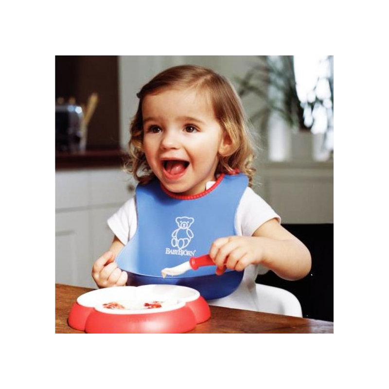 Waterproof Easily Wipes Clean and Comfortable Soft Silicone Baby Bibs Keep Stains Off