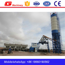 CE certification HZS25 25m3 mini small concrete batching plant price for sale