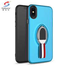 SAIBORO Two In One tpu+pc meteor anti-scratch case for iphone x luxury case cover for iphone x 10 luxury protective