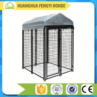 China Supplier Superior Quality Iron Fence Dog Kennel Durable In Use