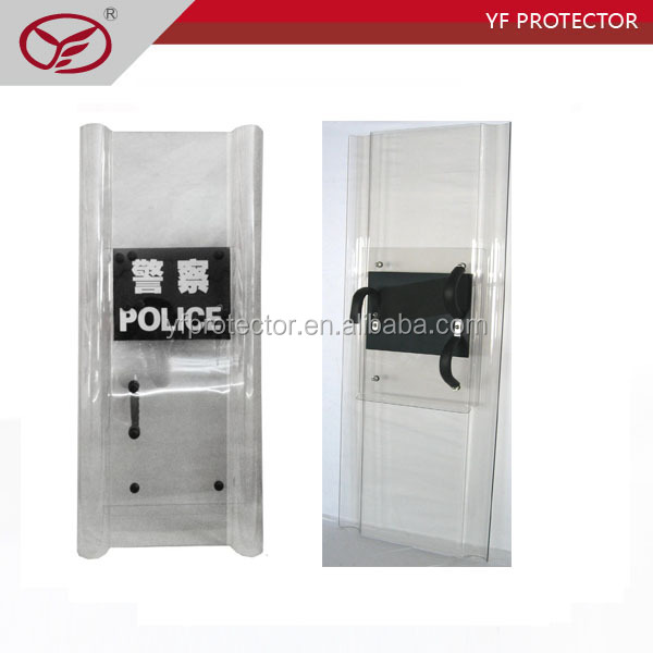 police protector Combination of the shield