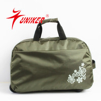 Hiking travelling trolley bag fashional sport luggage travel bag outdoor duffle bag