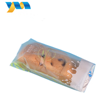 Food grade custom logo printed clear promotional customized PP bakery bag