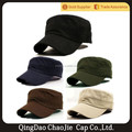 100% cotton top quality custom logo military cap