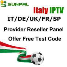 2018 Italy IPTV 1 Year Subscription UK/DE/Italia Channels for Android Tv Box Smart TV BOX