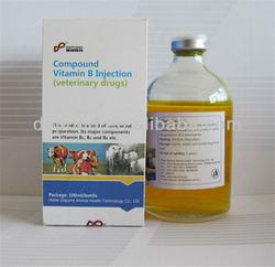 Animal injectable Vitamin B Complex for cattle sheep horse camel