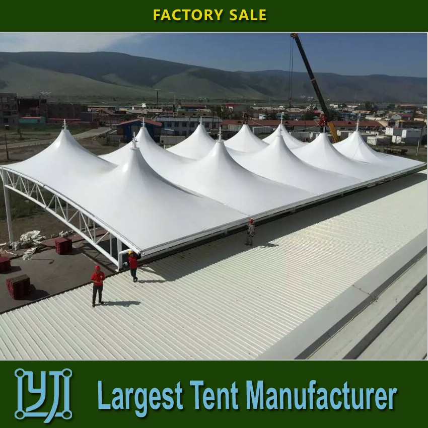 Fabric Tensile Membrane Structure Roof curved roof structures