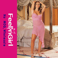 Wholesale Sexy Long Gown Lady's Sex Night Gown