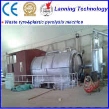 tire recycling to tire oil pyrolysis plant