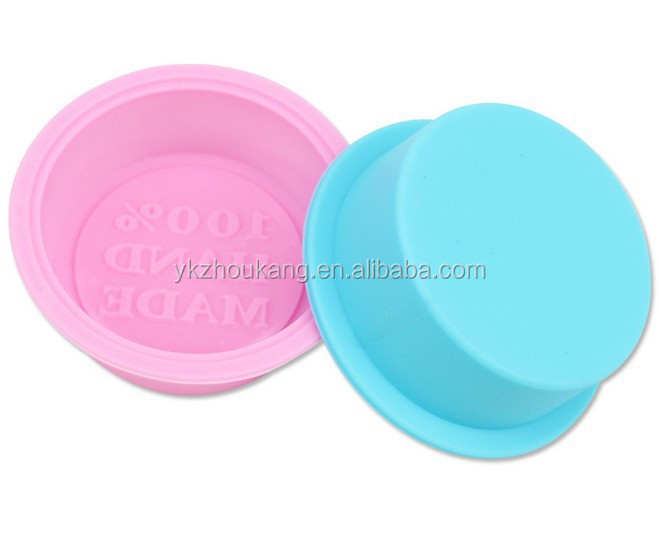 small round 100% handmade soap moulds soap making mold