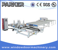 PVC/UPVC window making machine Welding and Cleaning Processing Line