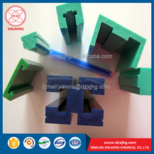 Shandong UHMW-PE polyethylene plastic chain guides rail or corner track