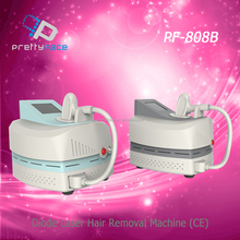 Fast and Permanent diode laser hair removal machine 808nm / laser hair removal machine
