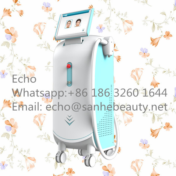 P-808nm maquina laser,maquina laser hair removal with Germany bar/ 808 diode laser hair removal