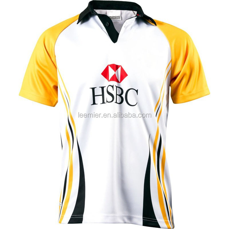 Custom size man polyester rugby league jerseys
