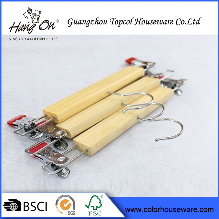 Fashionable Luxury Wood Pants Hanger Making Machine