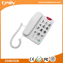 Tone/ Pulse switchable big keypad elderly phone with hands free speaker.(TM-PA189)