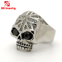 2016 Fashion New Design Casting Skull 316L Stainless Steel Fine Jewelry