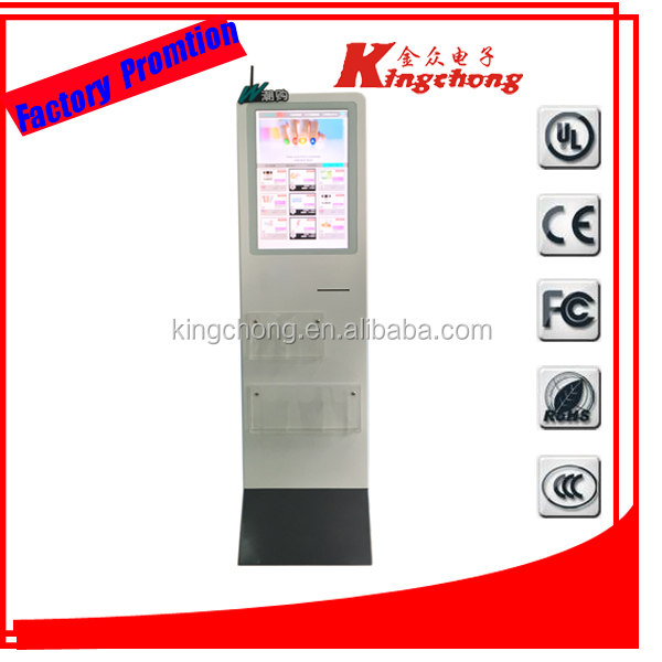 "marketing advertising lcd touching electronic advertising board 22"" pop player with touch screen"