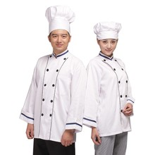 Fashion Chef Coat Cook Uniform