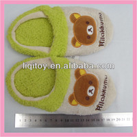 Soft plush indoor slipper export to Japan