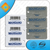 special offer customized plastic barcode key tag price