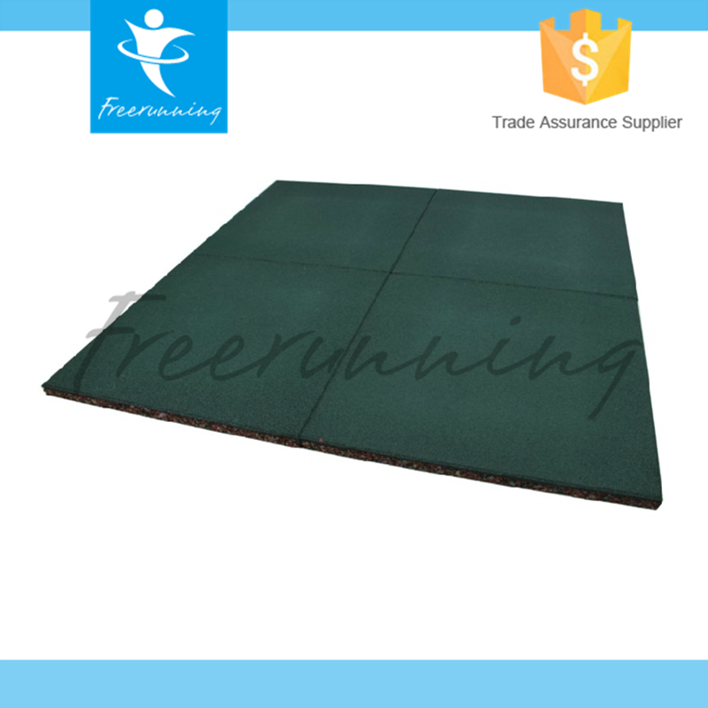 Sould Insulation Sports Exercise Rubber Gym Flooring